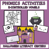 Literacy Centers, Phonics Activities with R-Controlled Vow