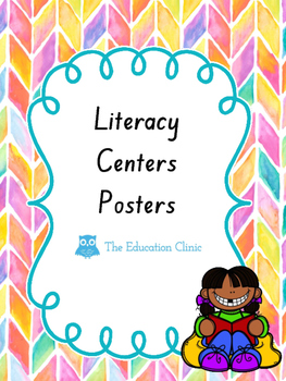 Literacy Centers Poster
