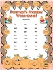Fall Pumpkins Games! Vowels Spelling Grades K-1 Literacy Centers