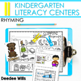 Literacy Centers:  Rhyming