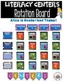 Literacy Centers Rotation Board