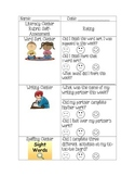 Literacy Centers Rubric