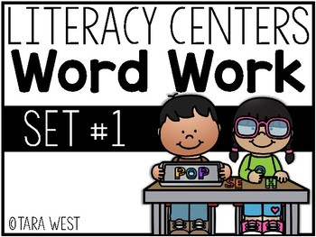 Literacy Centers SUPER Pack #1