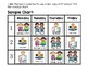 Literacy Centers Schedule Chart