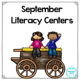 Literacy Centers - September