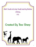 Literacy Centers - Short and Long Vowels