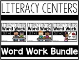 Literacy Centers Super Packs 1-3 BUNDLED #FLASHBASH