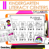 Literacy Centers:  Syllables
