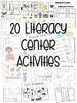 Kindergarten Literacy Centers Unit 6 {February}