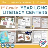 Literacy Centers YEAR LONG Bundle 1st Grade