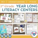 Literacy Centers YEAR LONG Bundle 1st Grade