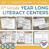 Literacy Centers YEAR LONG Bundle 5th Grade
