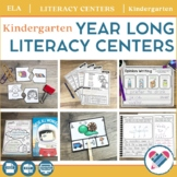 Literacy Centers YEAR LONG Bundle Kindergarten