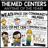 Literacy Centers and Math Centers for Kindergarten! {growi