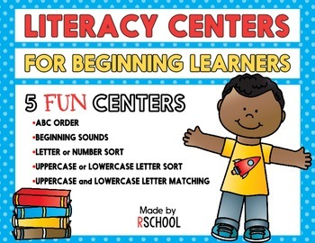 Literacy Centers for Beginning Learners