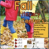Literacy Centers for Fall