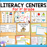 Literacy Centers for First Grade