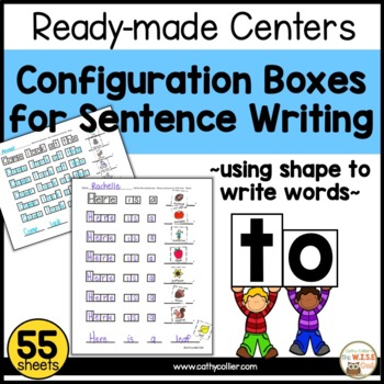 Literacy Centers for Independence: Configuration Boxes