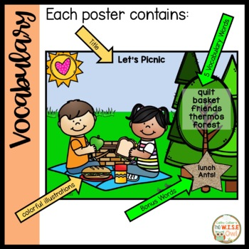 Literacy Centers for Independence: Spring/Summer Writing Posters
