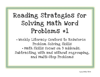 Use Keywords To Solve Word Problems