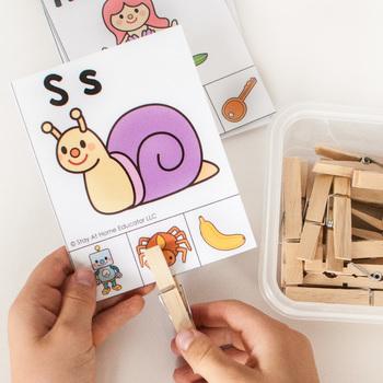 Literacy Centers for Preschool Bundle