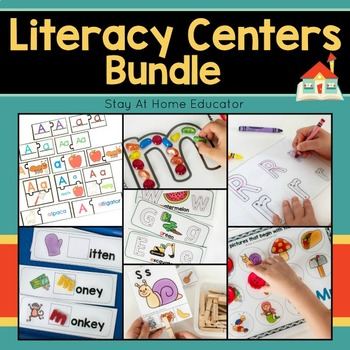 Literacy Centers for Preschool Bundle
