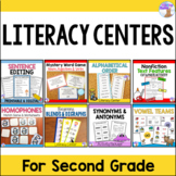 Literacy Centers for Second Grade