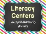Literacy Centers for Upper Elementary