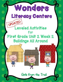 Literacy Centers for Wonders First Grade Unit 2 Week 2
