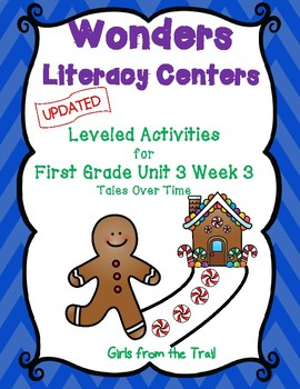 Literacy Centers for Wonders First Grade Unit 3 Week 3