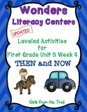 Literacy Centers for Wonders First Grade Unit 3 Week 4