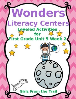 Literacy Centers for Wonders First Grade Unit 5 Week 2