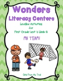 Literacy Centers for Wonders First Grade Unit 6 Week 2