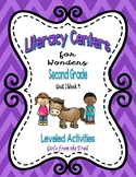 Literacy Centers for Wonders Second Grade Unit 1 Week 4