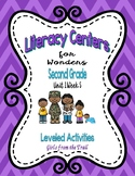 Literacy Centers for Wonders Second Grade Unit 1 Week 5