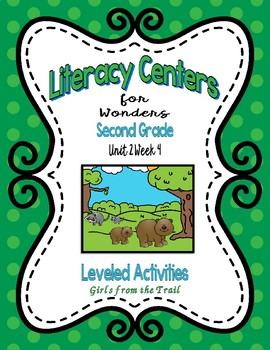 Literacy Centers for Wonders Second Grade Unit 2 Week 4