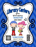 Literacy Centers for Wonders Second Grade Unit 3 Week 5