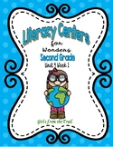 Literacy Centers for Wonders Second Grade Unit 4 Week 1