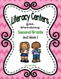 Literacy Centers for Wonders Second Grade Unit 5 Week 2