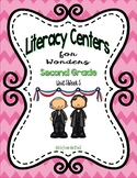 Literacy Centers for Wonders Second Grade Unit 5 Week 5