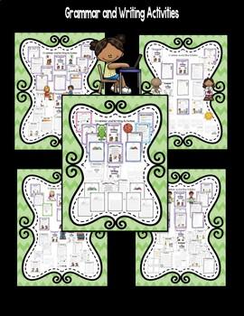 Literacy Centers for Wonders Second Grade Unit 6 Bundle