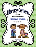 Literacy Centers for Wonders Second Grade Unit 6 Week 1