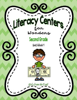 Literacy Centers for Wonders Second Grade Unit 6 Week 4