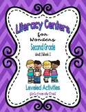 Literacy Centers for Wonders Second Grade Unit 1 Week 1