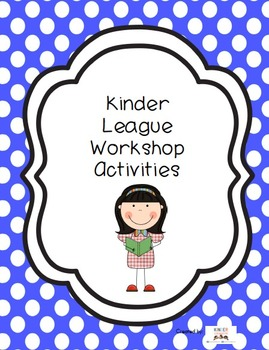 Literacy Centers for Workshop (Set 1)