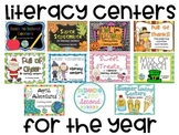 Literacy Centers for the Year (Mega Bundle)