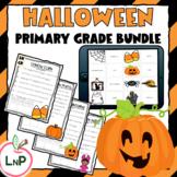 Literacy Centers with Halloween Games, October Activities,