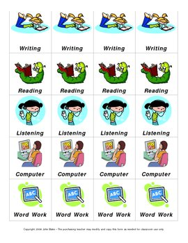 Literacy Centers/Work Stations and Small Groups Classroom Kit