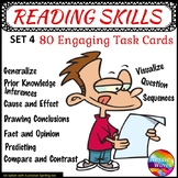 Literacy Centre Activities Task Cards Reading Comprehensio