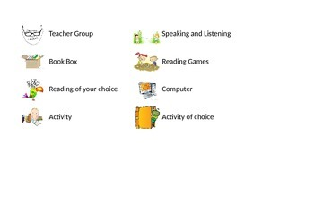 Literacy Centre Task-board